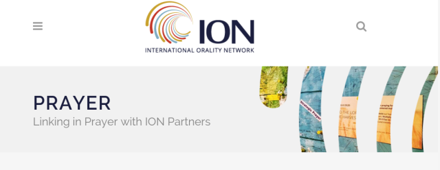 ION Prayer Linking in Prayer with ION Partners