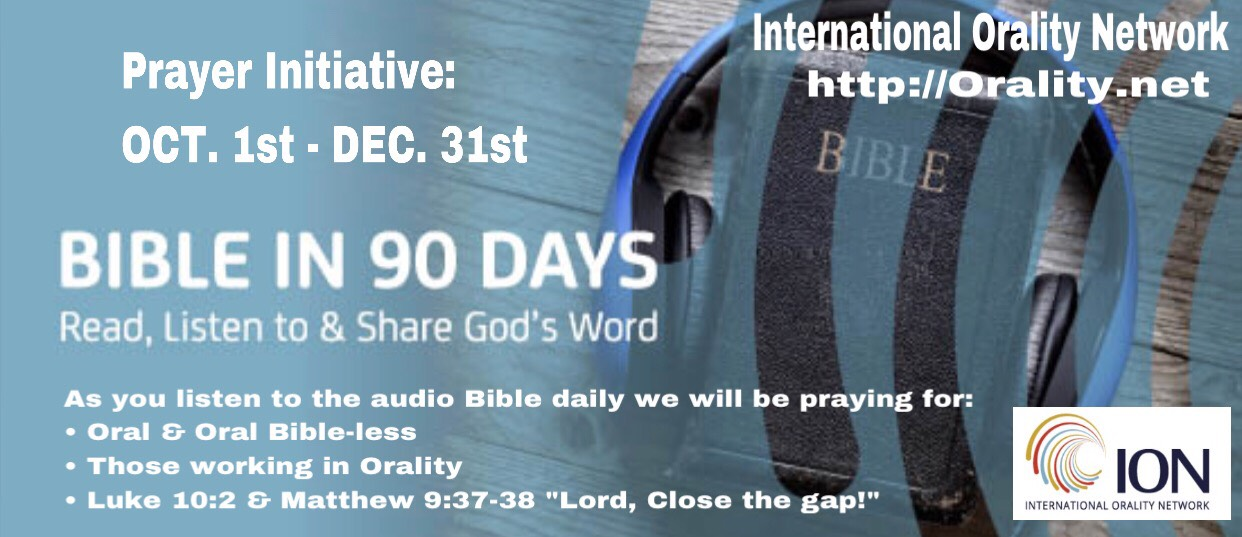 Bible in 90 Days Prayer Initiative