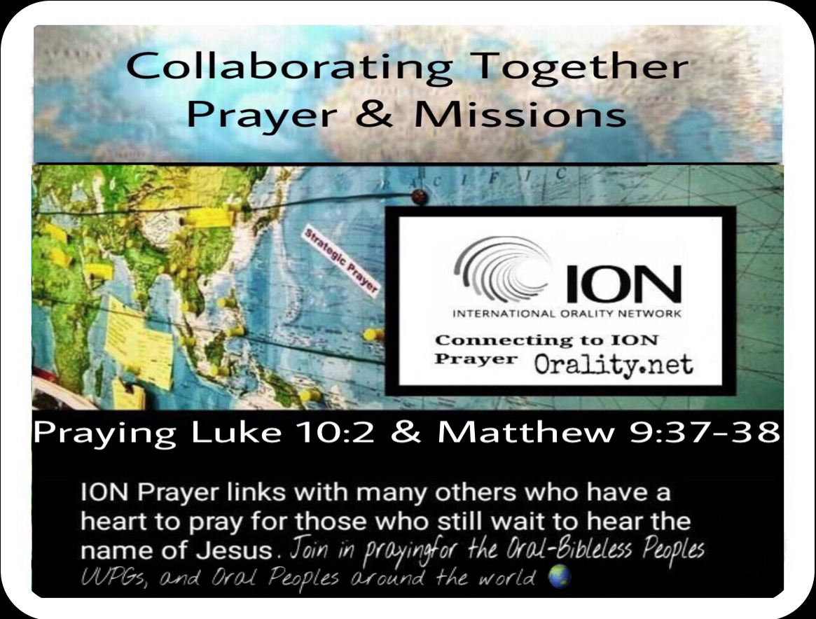 Collaborating Together Praying PRAY TO THE LORD OF THE HARVEST