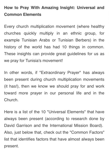 How to pray amazing prayers Pray4Tunisia