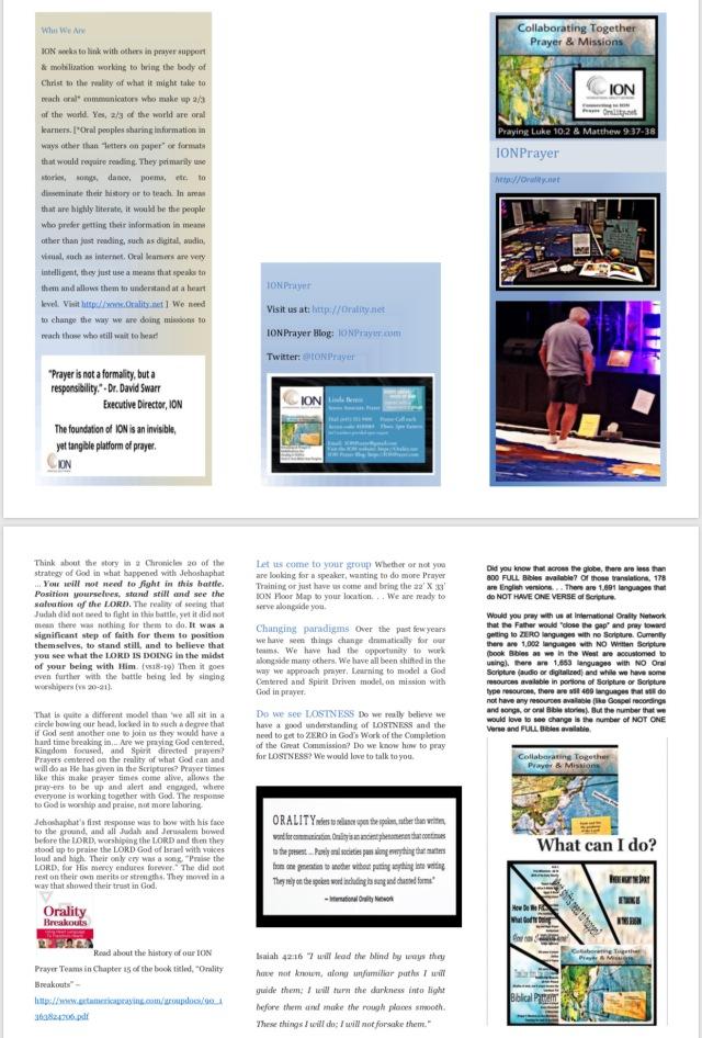 IONPrayer Brochure