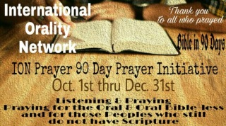 Thank you to all who prayed during the 90 Day Prayer Initiative