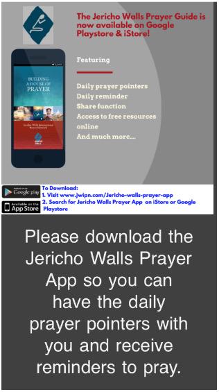 Jerico Walls Prayer App