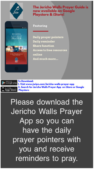 Jerico Walls Prayer App