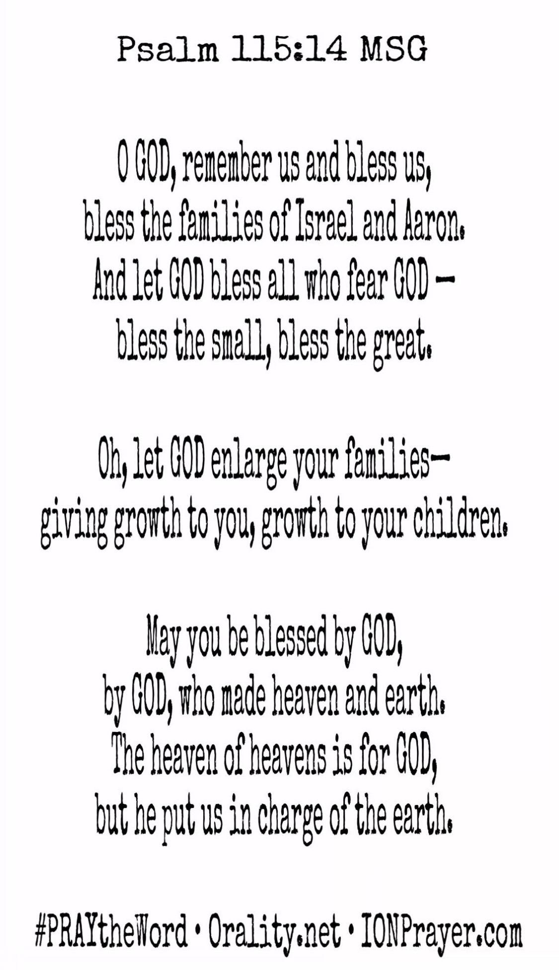 Psalm 115 verse 14