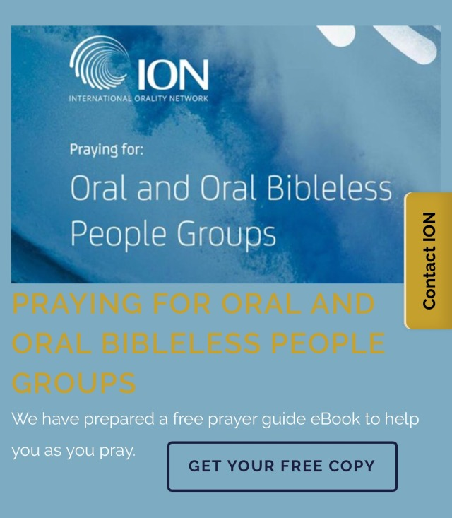 Orality website pic Praying for the Oral and Oral Bibleless
