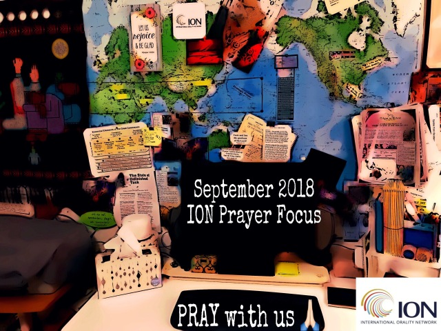 Sept ION Prayer Focus